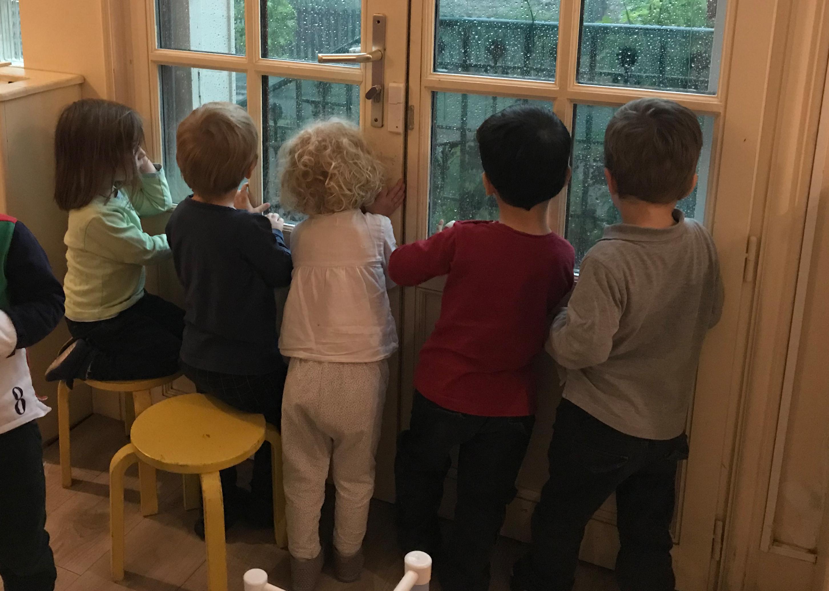 Crèche Chatou, Crèche associative Chatou, Crèche associative, Le Jardin des Petits Soleils, Jour de Tonnerre